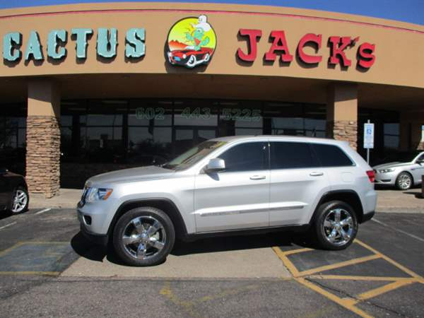 Pre-Owned 2012 JEEP GRAND CHEROKEE 4 DOOR WAGON