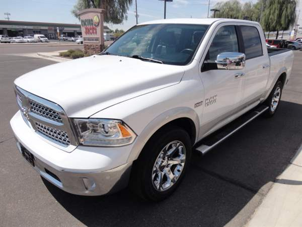 Pre-Owned 2017 RAM 1500 4 DOOR CAB; CREW; SHORT BED