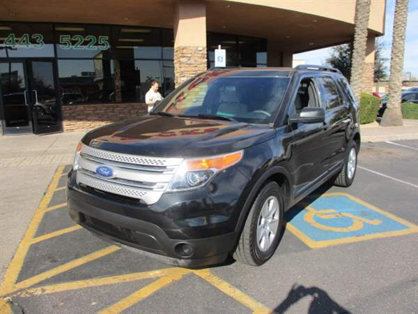 Pre-Owned 2011 FORD EXPLORER 4DSW