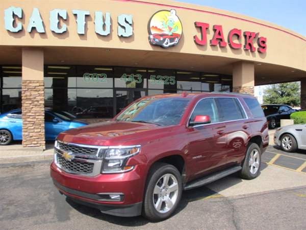Pre-Owned 2016 CHEVROLET TAHOE 4 DOOR WAGON
