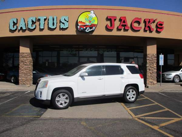 Pre-Owned 2011 GMC TERRAIN 4 DOOR WAGON