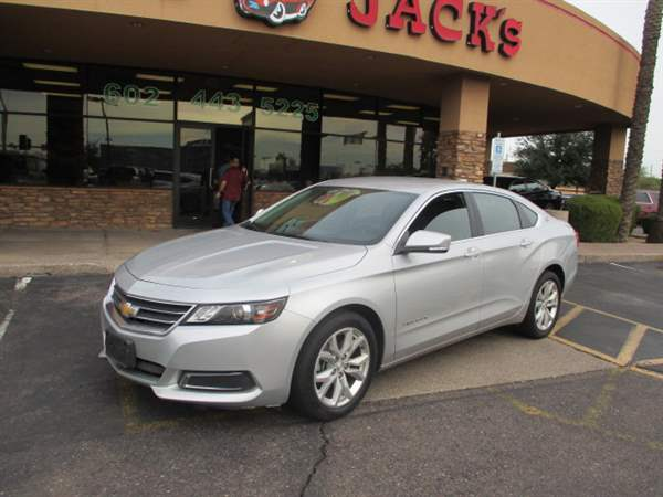 Pre-Owned 2017 CHEVROLET IMPALA 4 DOOR SEDAN