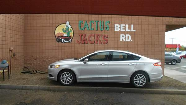 Pre-Owned 2016 FORD FUSION PLATINUM