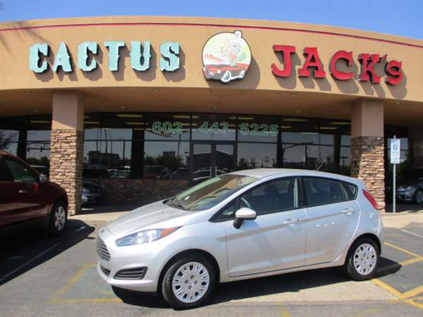 Pre-Owned 2016 FORD FIESTA 4 DOOR HATCHBACK