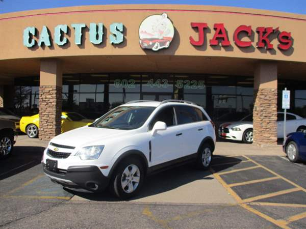Pre-Owned 2014 CHEVROLET CAPTIVA SPORT 4 DOOR WAGON