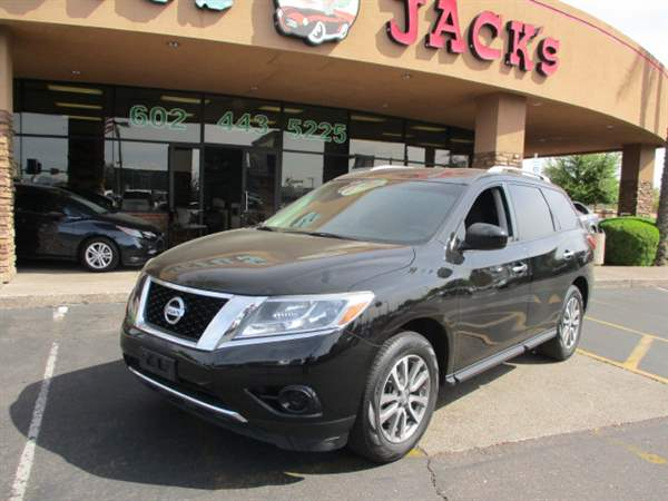 Pre-Owned 2013 NISSAN PATHFINDER 4DSW