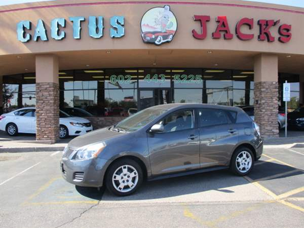 Pre-Owned 2010 PONTIAC VIBE 4 DOOR WAGON; ALL PURPOSE WINDO