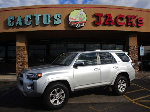 Pre-Owned 2018 TOYOTA 4RUNNER 4 DOOR WAGON