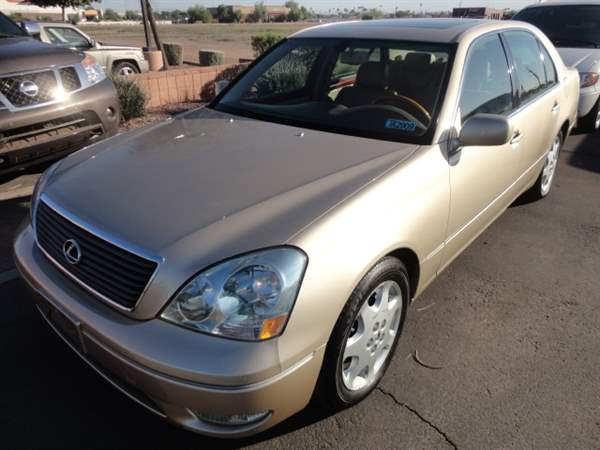 Pre-Owned 2003 LEXUS LS 430 4 DOOR SEDAN