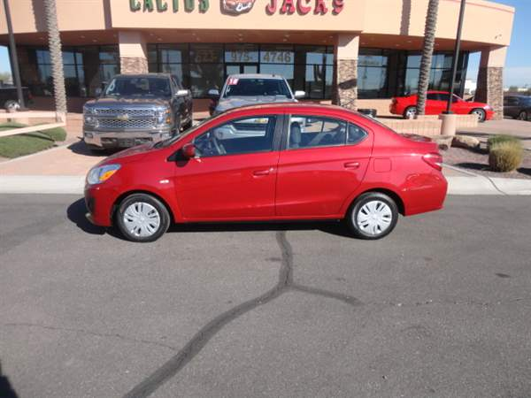 Pre-Owned 2018 MITSUBISHI MIRAGE G4 4 DOOR SEDAN
