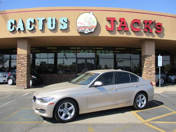 Pre Owned 2014 Bmw 3 Series 4dsd In Phoenix 19056 Cactus Jacks Auto