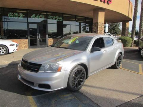 Pre-Owned 2014 DODGE AVENGER 4 DOOR SEDAN