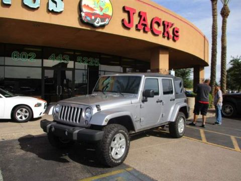 Pre-Owned 2014 JEEP WRANGLER UNLIMITED 4DSW