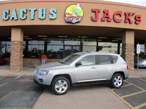 Pre-Owned 2016 JEEP COMPASS 4 DOOR WAGON