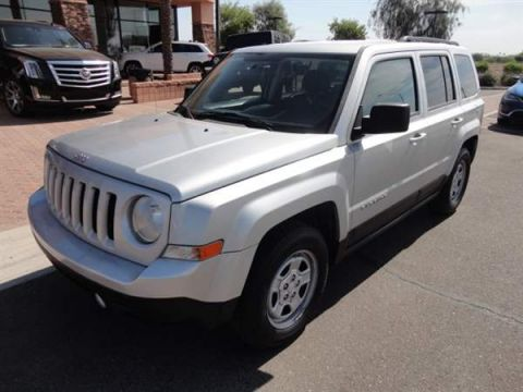 Pre-Owned 2012 JEEP PATRIOT 4 DOOR WAGON