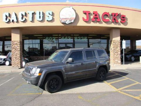 Pre-Owned 2015 JEEP PATRIOT 4DSW