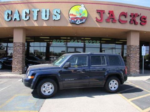 Pre-Owned 2014 JEEP PATRIOT 4 DOOR WAGON