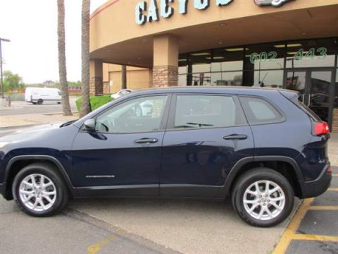 Pre-Owned 2015 JEEP CHEROKEE 4DSW