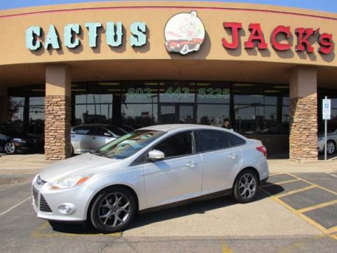 Pre-Owned 2013 FORD FOCUS 4DSD