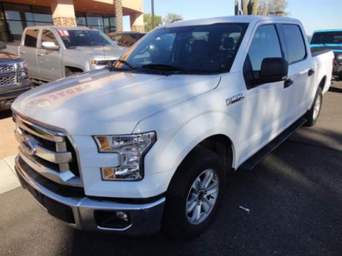 Pre-Owned 2015 FORD F-150 4 DOOR CAB; STYLESIDE; SUPER CR