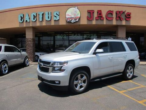 Pre-Owned 2016 CHEVROLET TAHOE 4DSW