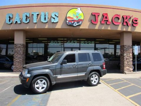 Pre-Owned 2010 JEEP LIBERTY 4 DOOR WAGON