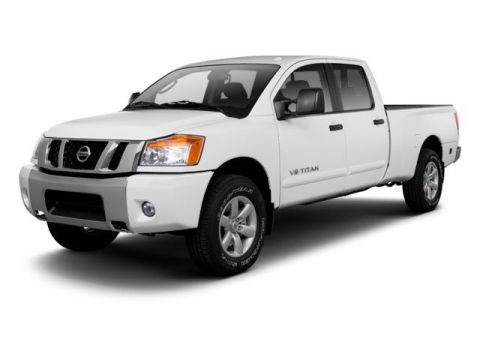 Pre-Owned 2013 Nissan Titan S
