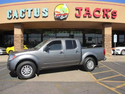 Pre-Owned 2017 NISSAN FRONTIER 4 DOOR CAB; CREW