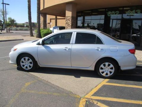 Pre-Owned 2010 TOYOTA COROLLA 4DSD