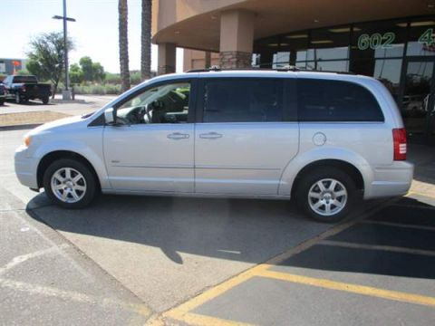 Pre-Owned 2008 CHRYSLER TOWN COUNTRY 4 DOOR VAN; EXTENDED