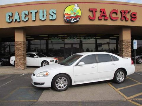 Pre-Owned 2011 CHEVROLET IMPALA 4 DOOR SEDAN