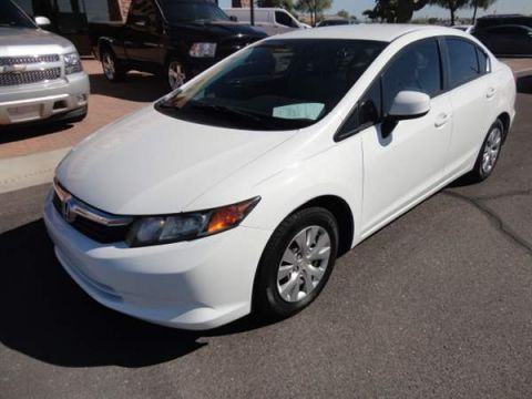 Pre-Owned 2012 Honda CIVIC 4 DOOR SEDAN