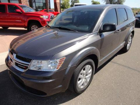 Pre-Owned 2015 DODGE JOURNEY 4 DOOR WAGON