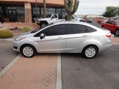 Pre-Owned 2015 FORD FIESTA 4 DOOR SEDAN