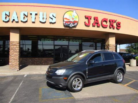 Pre-Owned 2012 CHEVROLET CAPTIVA SPORT 4 DOOR WAGON