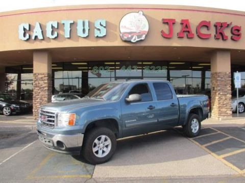 Pre-Owned 2013 GMC SIERRA 4 DOOR CAB; CREW