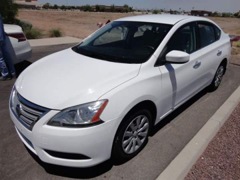 Pre-Owned 2015 NISSAN SENTRA 4 DOOR SEDAN
