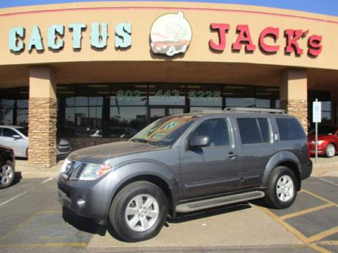 Pre-Owned 2012 NISSAN PATHFINDER 4DSW