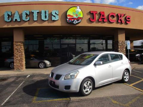 Pre-Owned 2009 PONTIAC VIBE 4 DOOR WAGON; ALL PURPOSE WINDO