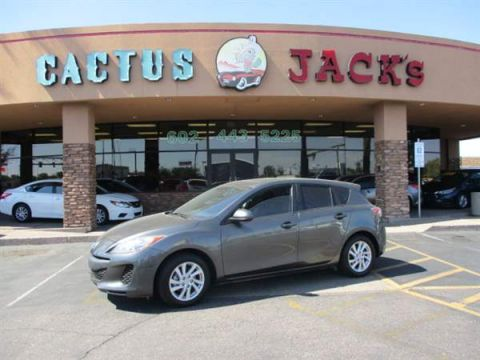 Pre-Owned 2012 MAZDA Mazda3 4 DOOR HATCHBACK