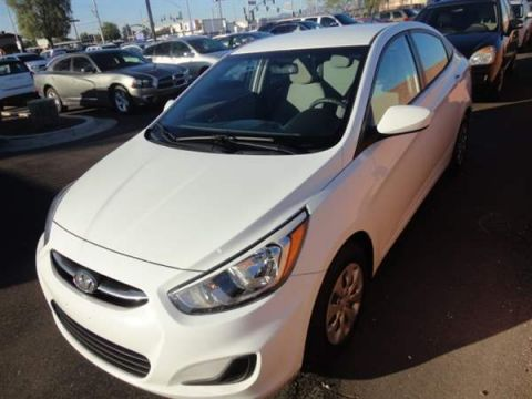 Pre-Owned 2016 HYUNDAI ACCENT 4 DOOR SEDAN