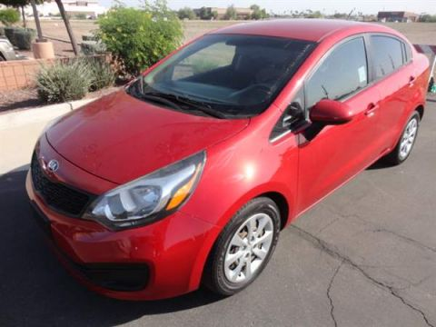 Pre-Owned 2014 KIA RIO 4 DOOR SEDAN