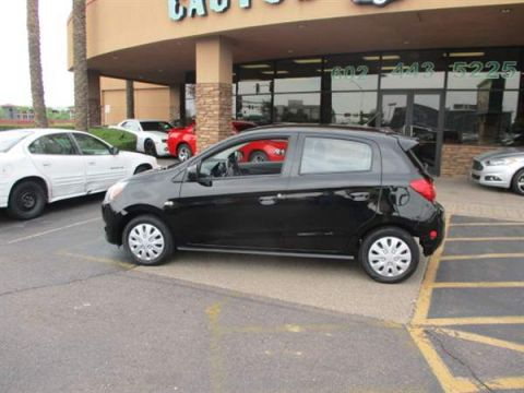 Pre-Owned 2015 MITSUBISHI MIRAGE 4 DOOR HATCHBACK